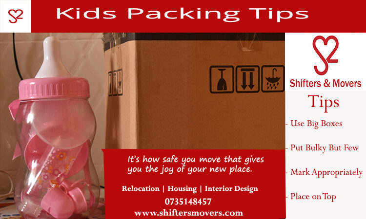 packing tips for kids