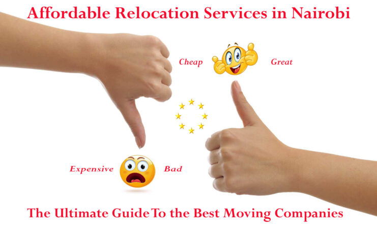 Affordable relocation services in Nairobi Kenya, cheap relocation service